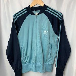 Adidas Teal / Navy Jacket, Size M